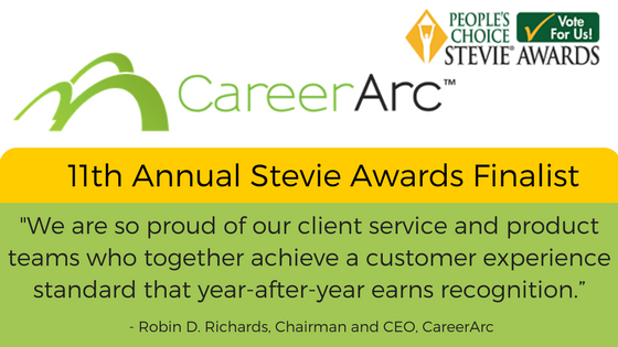 CareerArc Stevies Award Finalist Quote