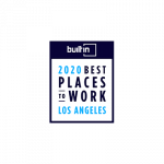 Built In LA 2020 Best Places to Work Award