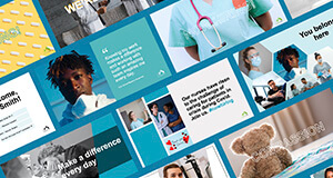 Healthcare-specific employer brand templates for social media