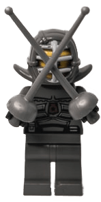 Lego sword fighter representing the battle between organic social media and paid media for talent acquisition